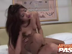 asian bombshell nan gets wooly beaver squirted