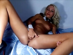 Vagina stretched broad close-up Vaginal going knuckle deep