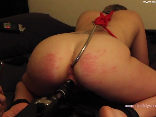Anal Hook Introduction - Daddyscowgirl